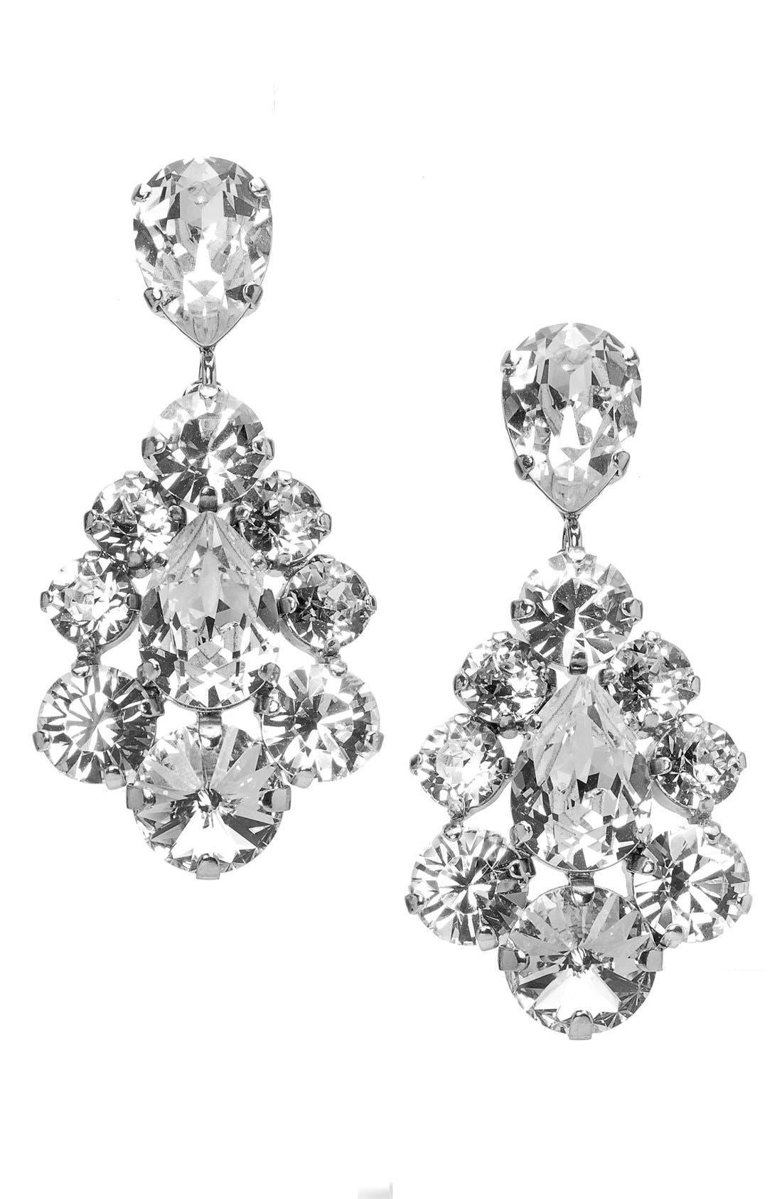 Alternate Image 1 Selected - L. Erickson 'Flora' Chandelier Earrings