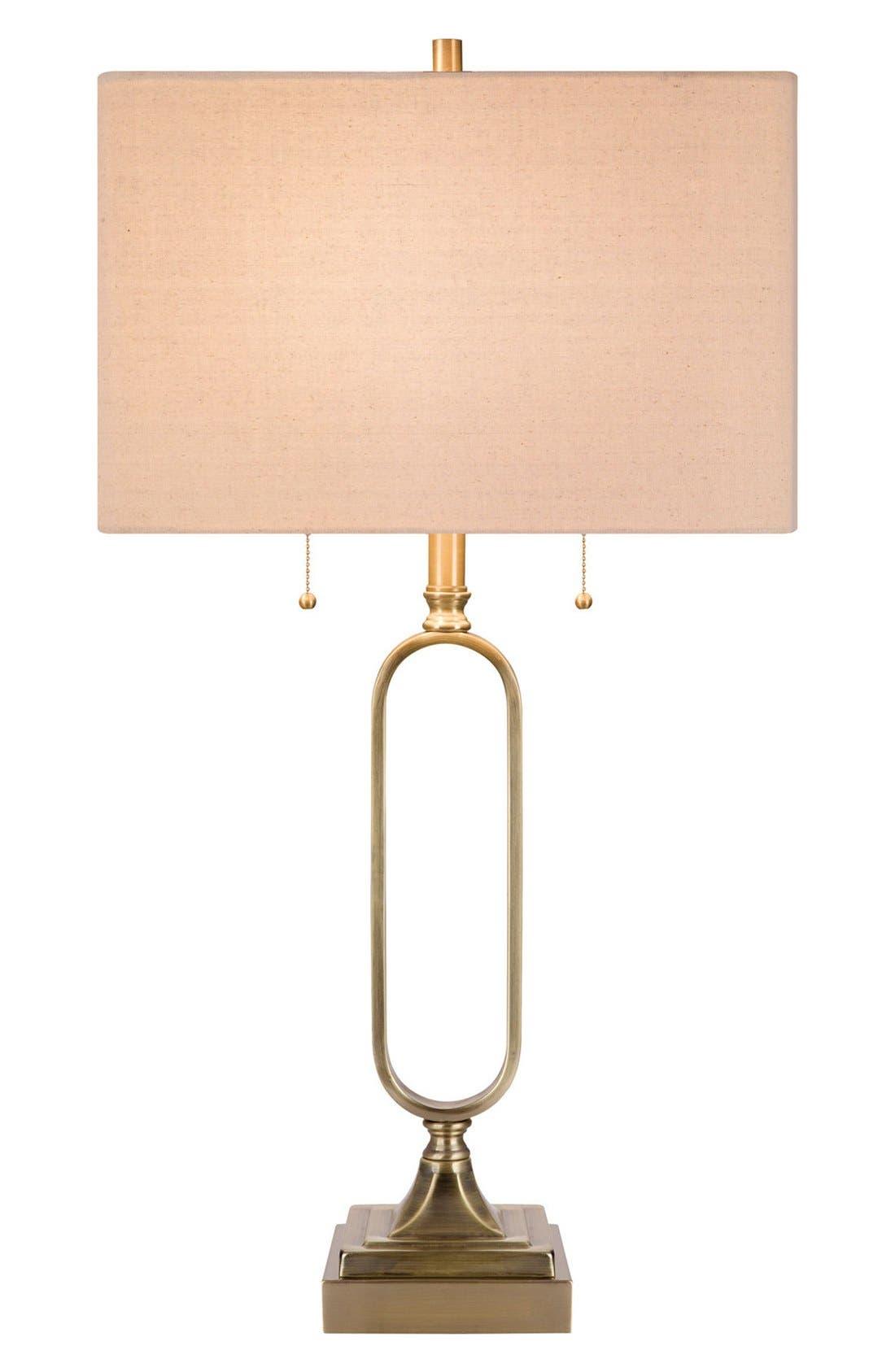 JAlexander Metal Table Lamp,                         Main,                         color, Metallic Gold