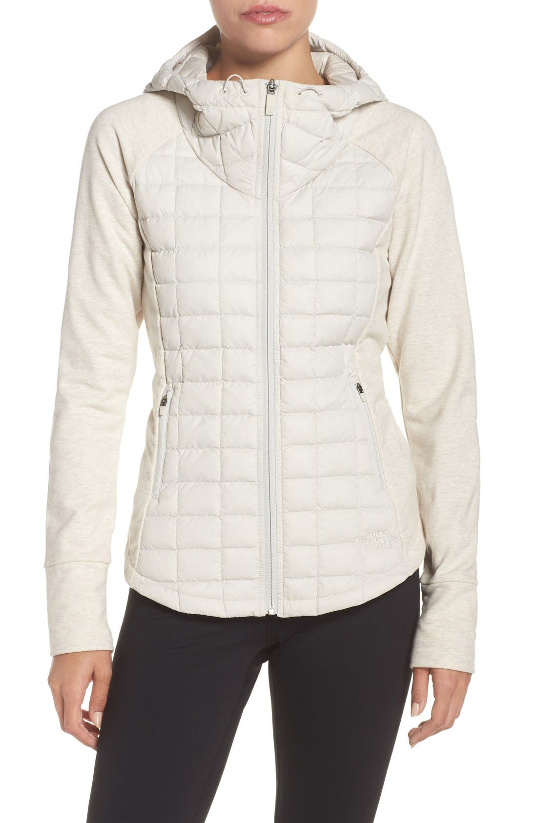 'Endeavor' ThermoBall PrimaLoft<sup>®</sup> Quilted Jacket,                         Main,                         color, Moonlight Ivory/ Ivory White
