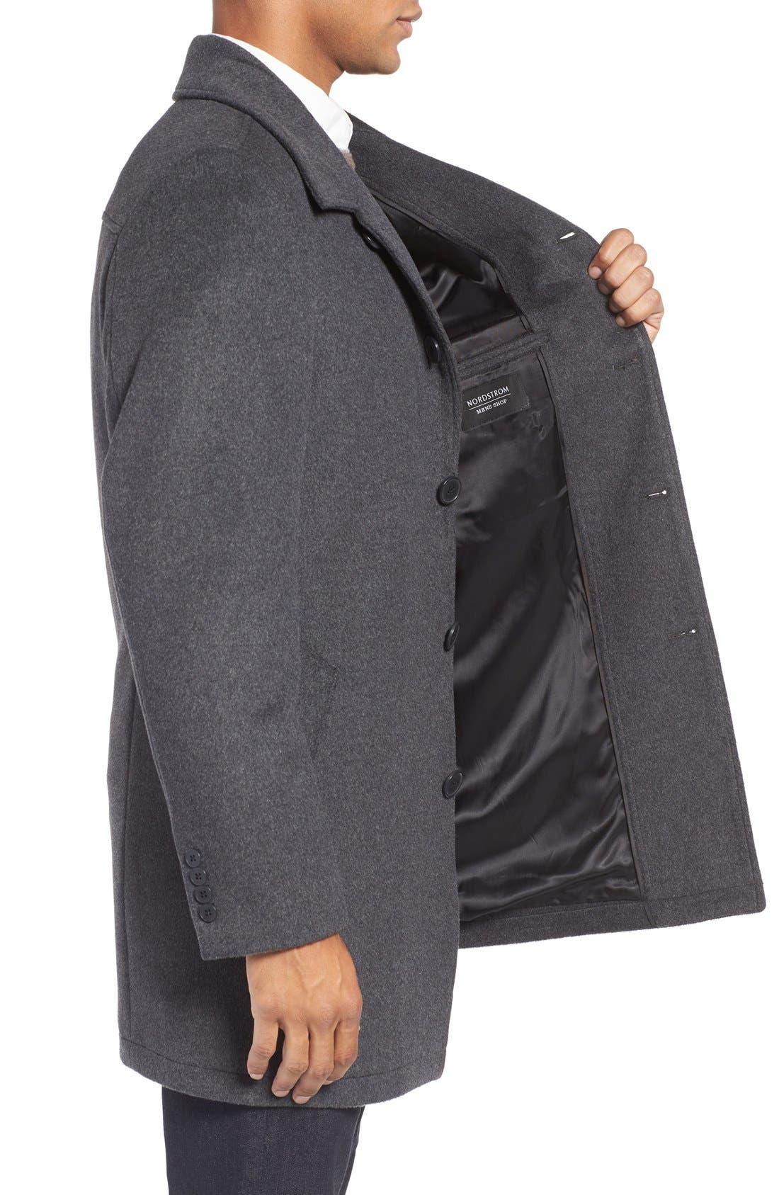 Alternate Image 3  - Nordstrom Men's Shop Wool Blend Car Coat