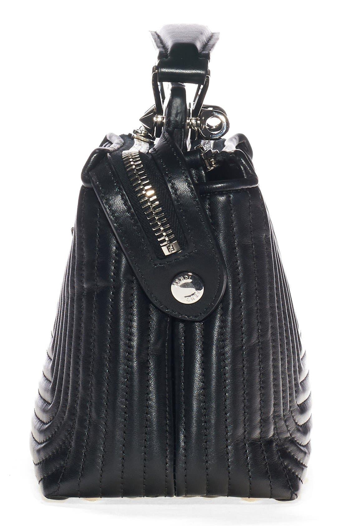Alternate Image 5  - Fendi 'DOTCOM Click' Quilted Leather Satchel