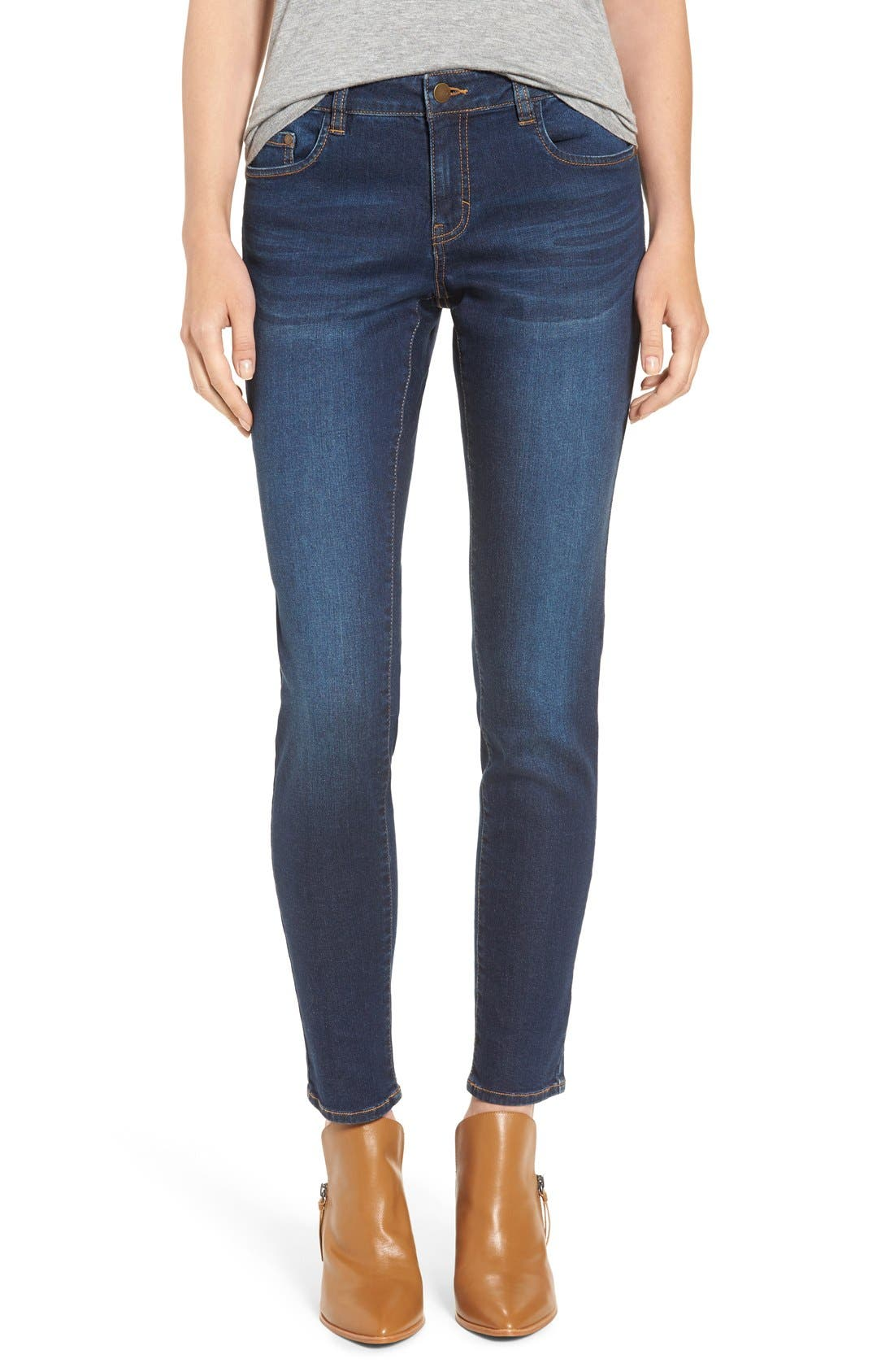 Main Image - BP. Mid Rise Skinny Jeans