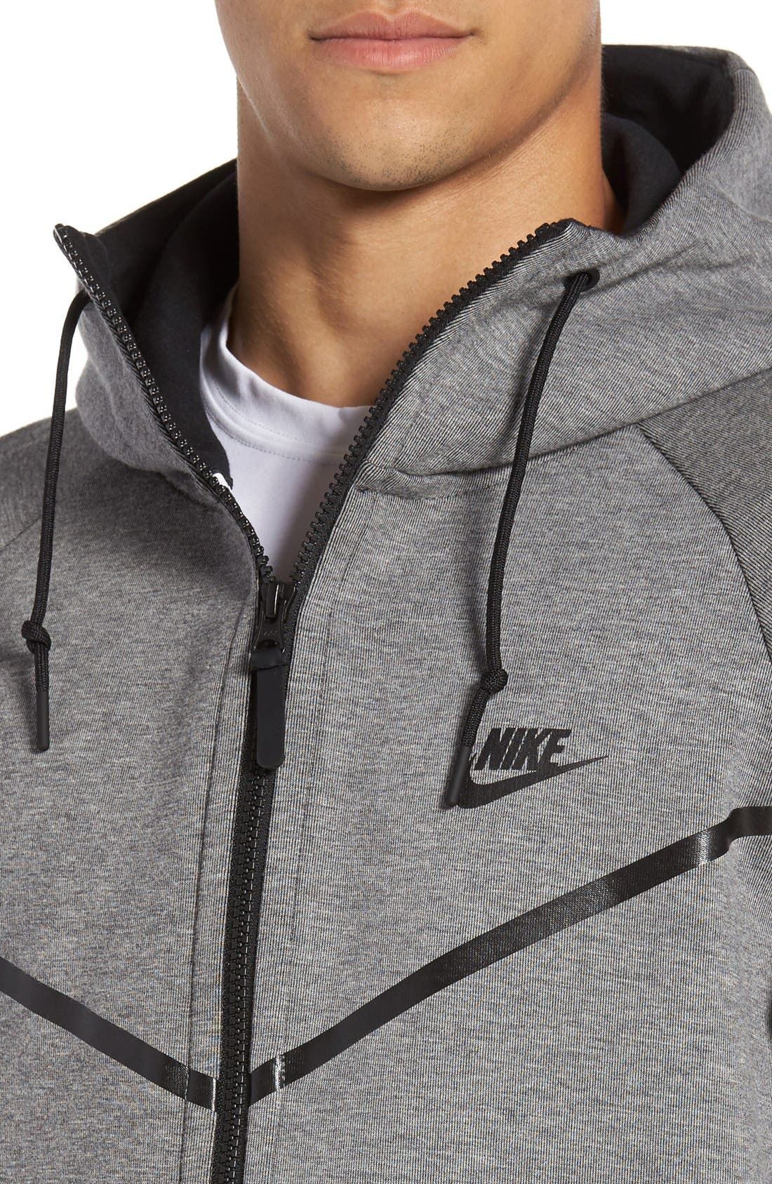 Alternate Image 4  - Nike 'Windrunner' Tech Fleece Hoodie