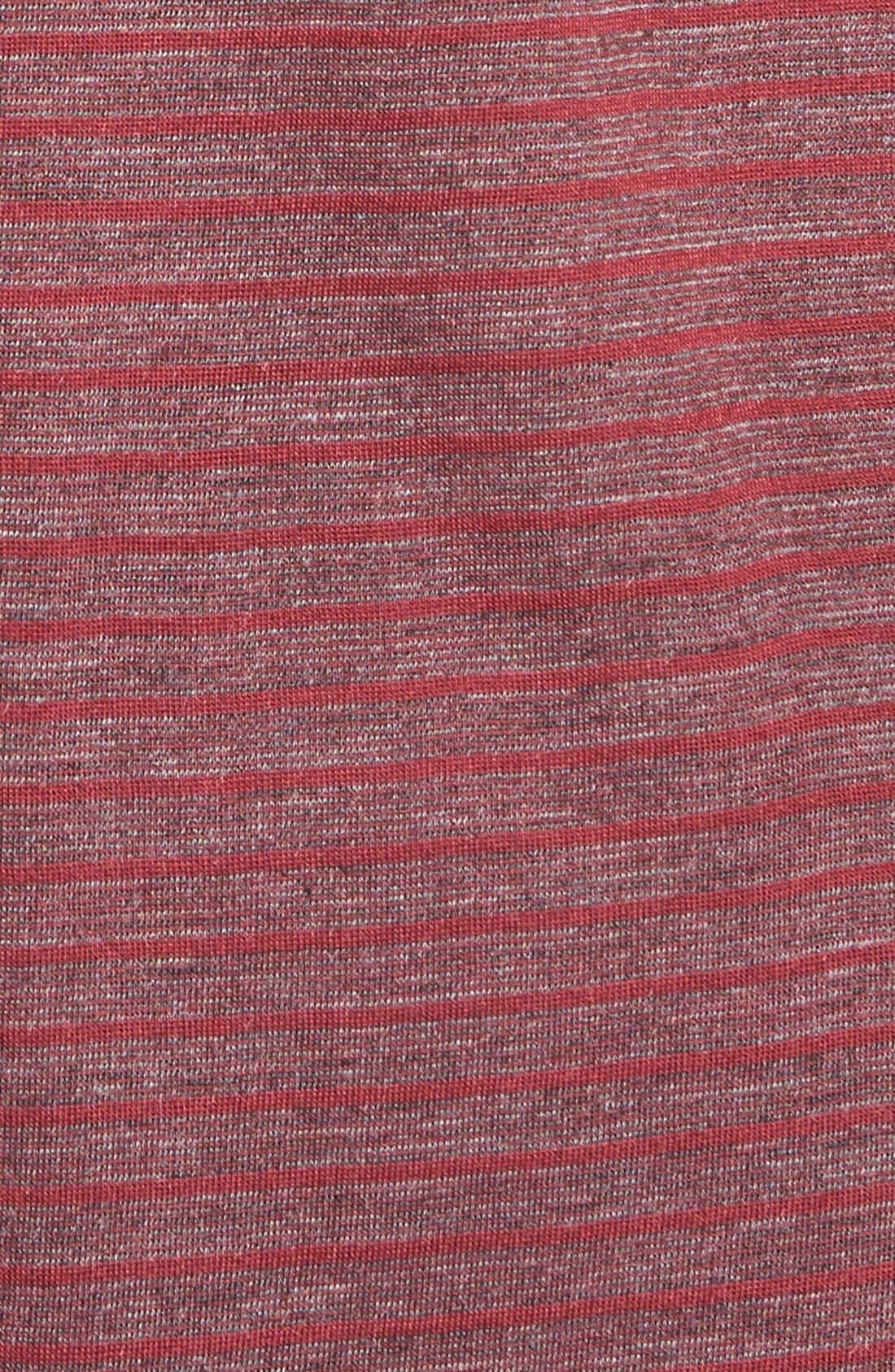 Alternate Image 5  - Stem striped High/Low Tee