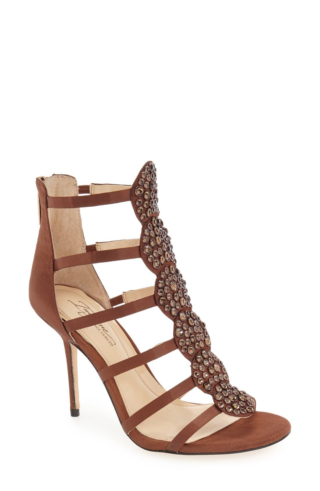 Alternate Image 1 Selected - Imagine by Vince Camuto 'Reya' Crystal Sandal (Women)