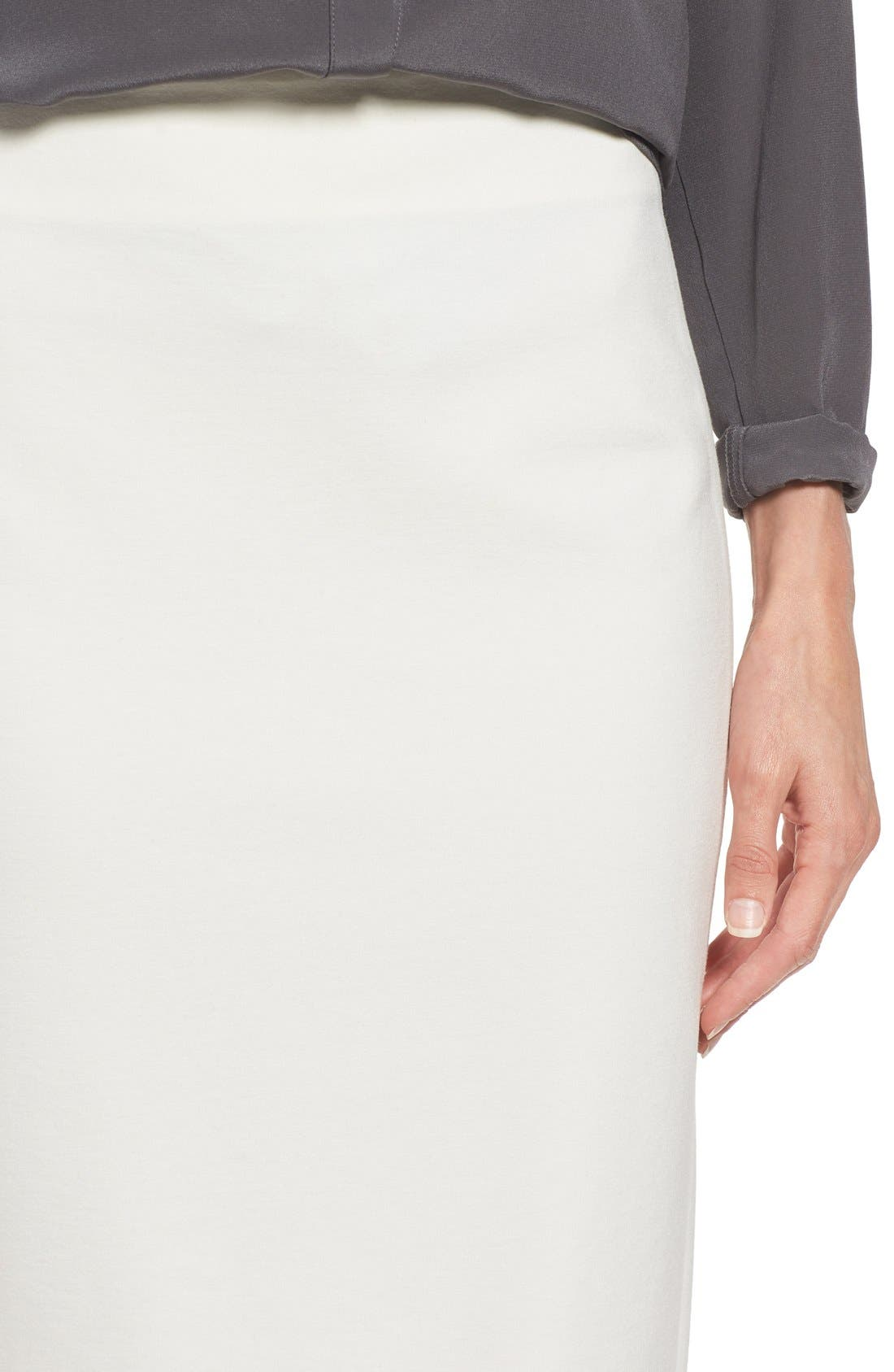 Alternate Image 5  - Vince Camuto Ponte Midi Skirt (Regular & Petite)