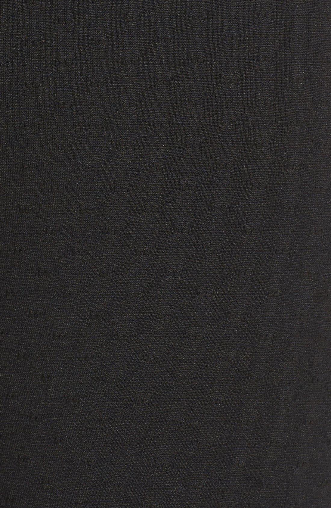 'Trail Blazer' High Waist Leggings,                             Alternate thumbnail 5, color,                             Black Melange
