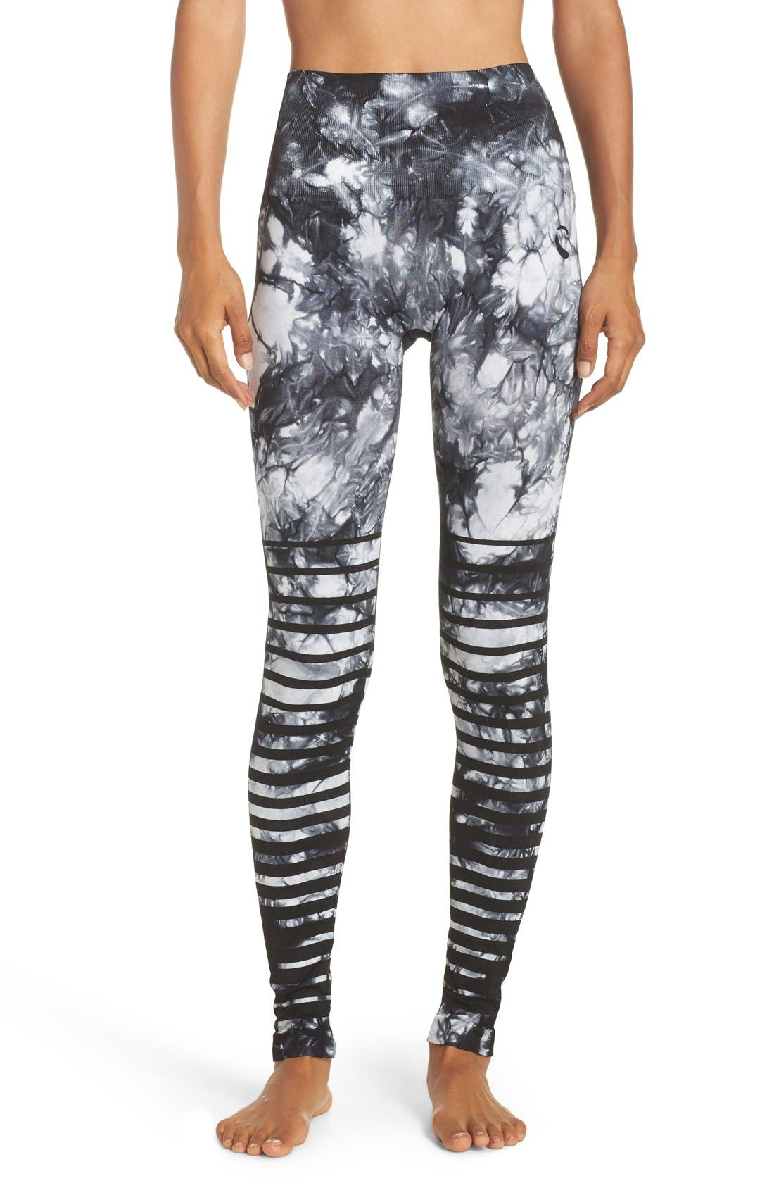 Climawear 'Front Runner' High Waist Seamless Leggings