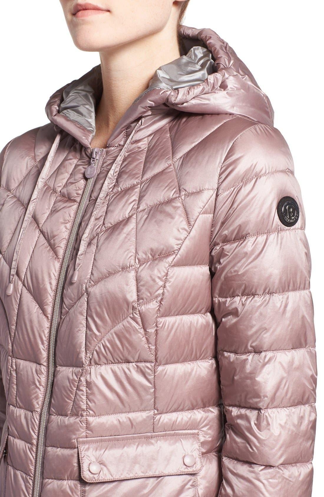 Alternate Image 4  - Bernardo Packable Down & PrimaLoft® Fill Hooded Jacket (Regular & Petite)
