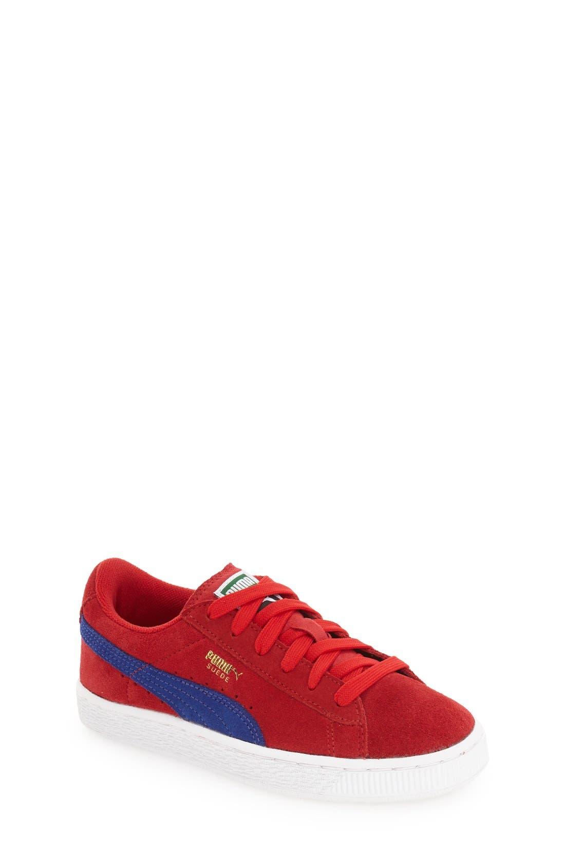 PUMA Suede Sneaker (Toddler, Little Kid & Big Kid)
