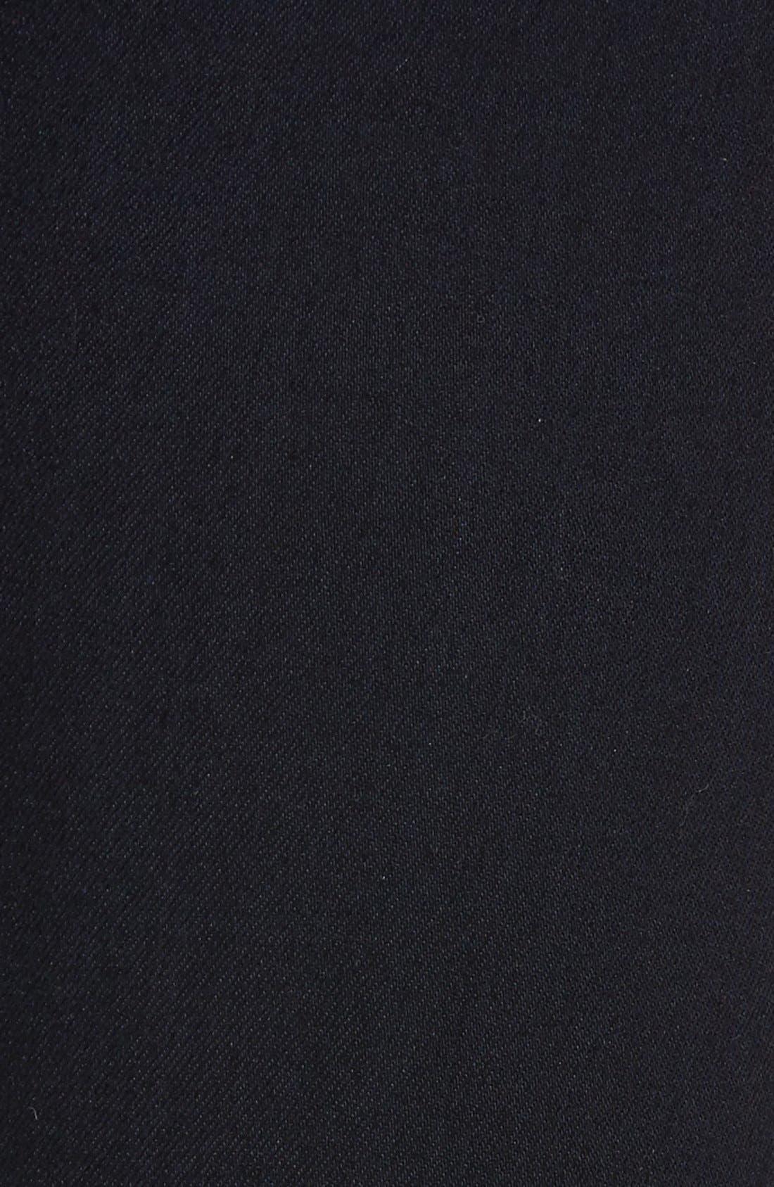 Alternate Image 5  - 7 For All Mankind b(air) High Waist Skinny Jeans (Blue/Black River Thames)