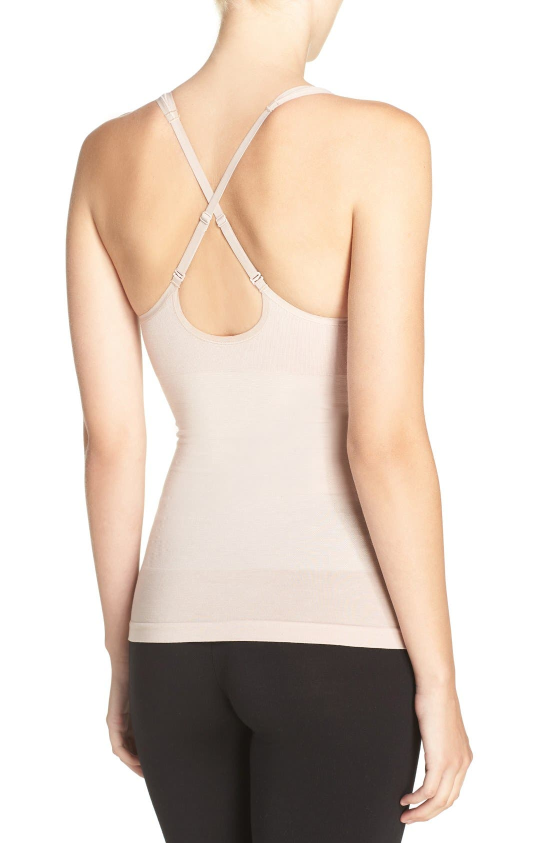 Alternate Image 2  - Yummie Adella Convertible Smoother Camisole (2 for $58)