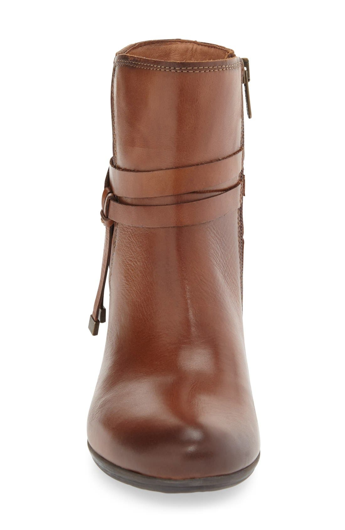 'Verona' Bootie,                             Alternate thumbnail 3, color,                             Cuero Leather