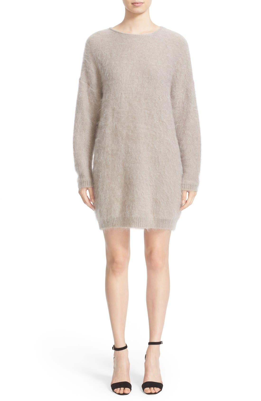 Main Image - Eleventy Mohair & Silk Sweater Dress