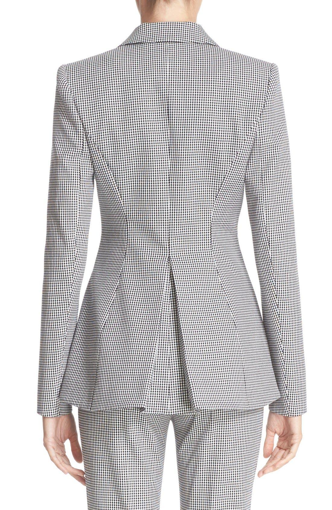 Alternate Image 2  - Altuzarra Acacia Mini Gingham Jacket