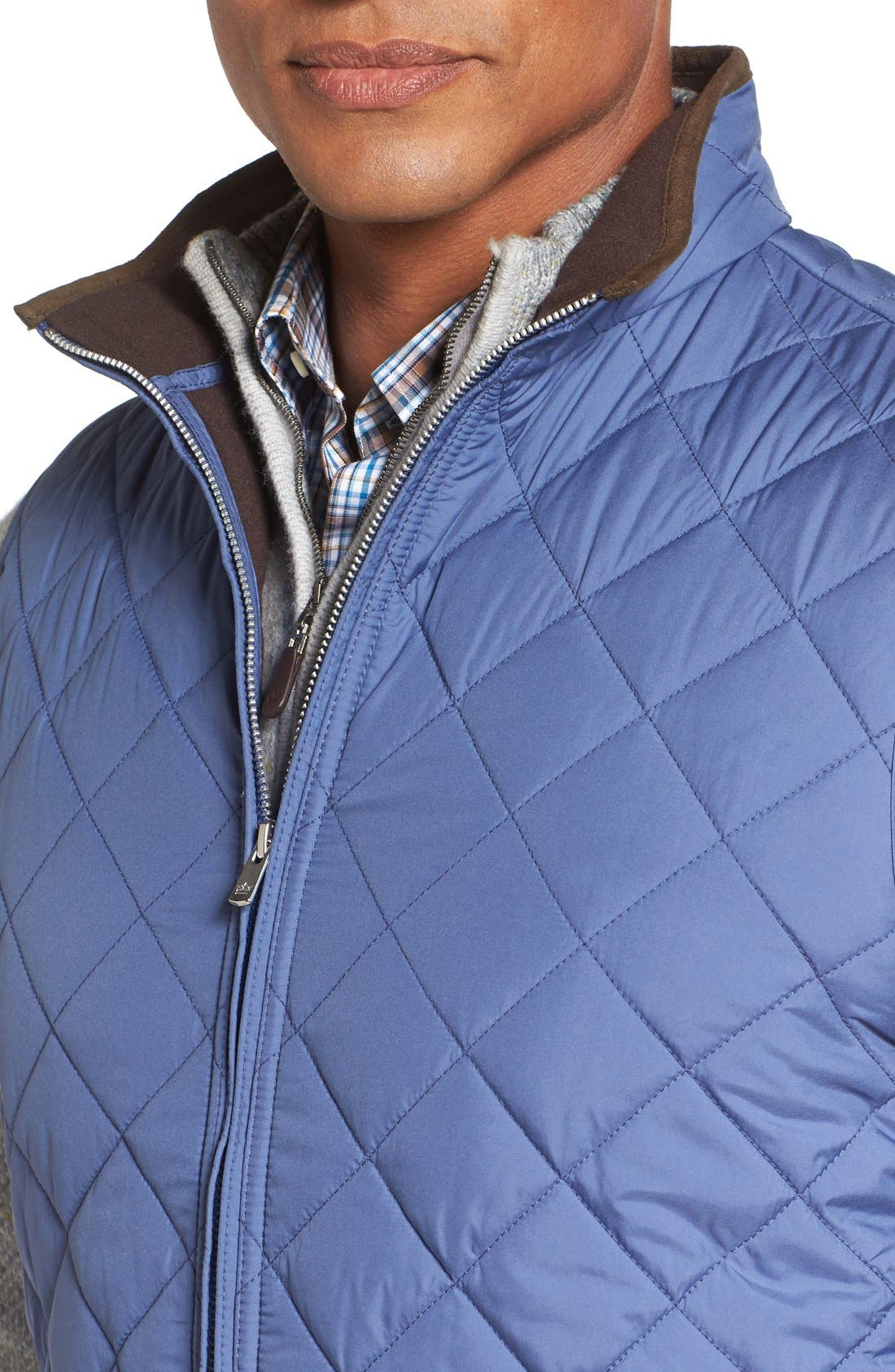 Alternate Image 4  - Peter Millar 'Hudson' Lightweight Quilted Vest