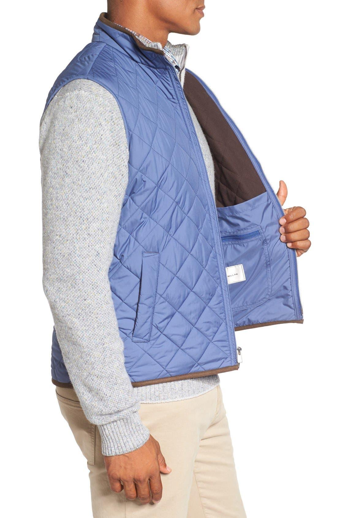 Alternate Image 3  - Peter Millar 'Hudson' Lightweight Quilted Vest