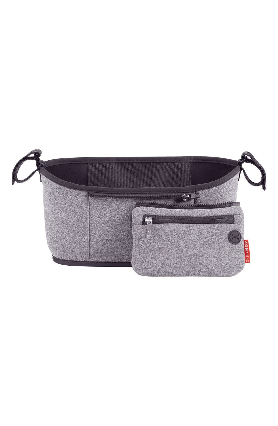 'Grab & Go' Stroller Organizer,                             Main thumbnail 1, color,                             Heather Grey