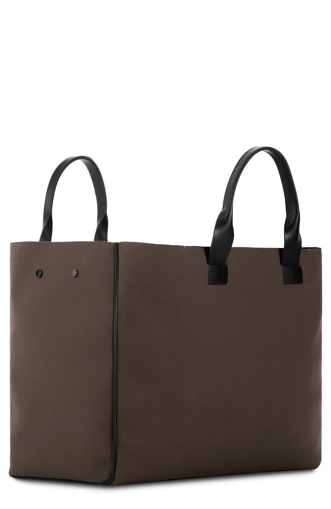 Troubadour Nylon & Leather Tote Bag