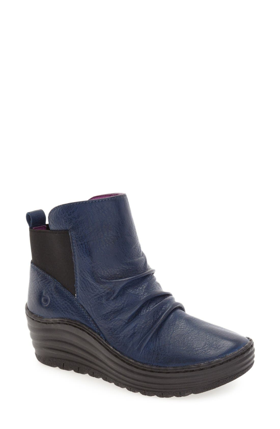 Main Image - bionica 'Gilford' Wedge Bootie (Women)