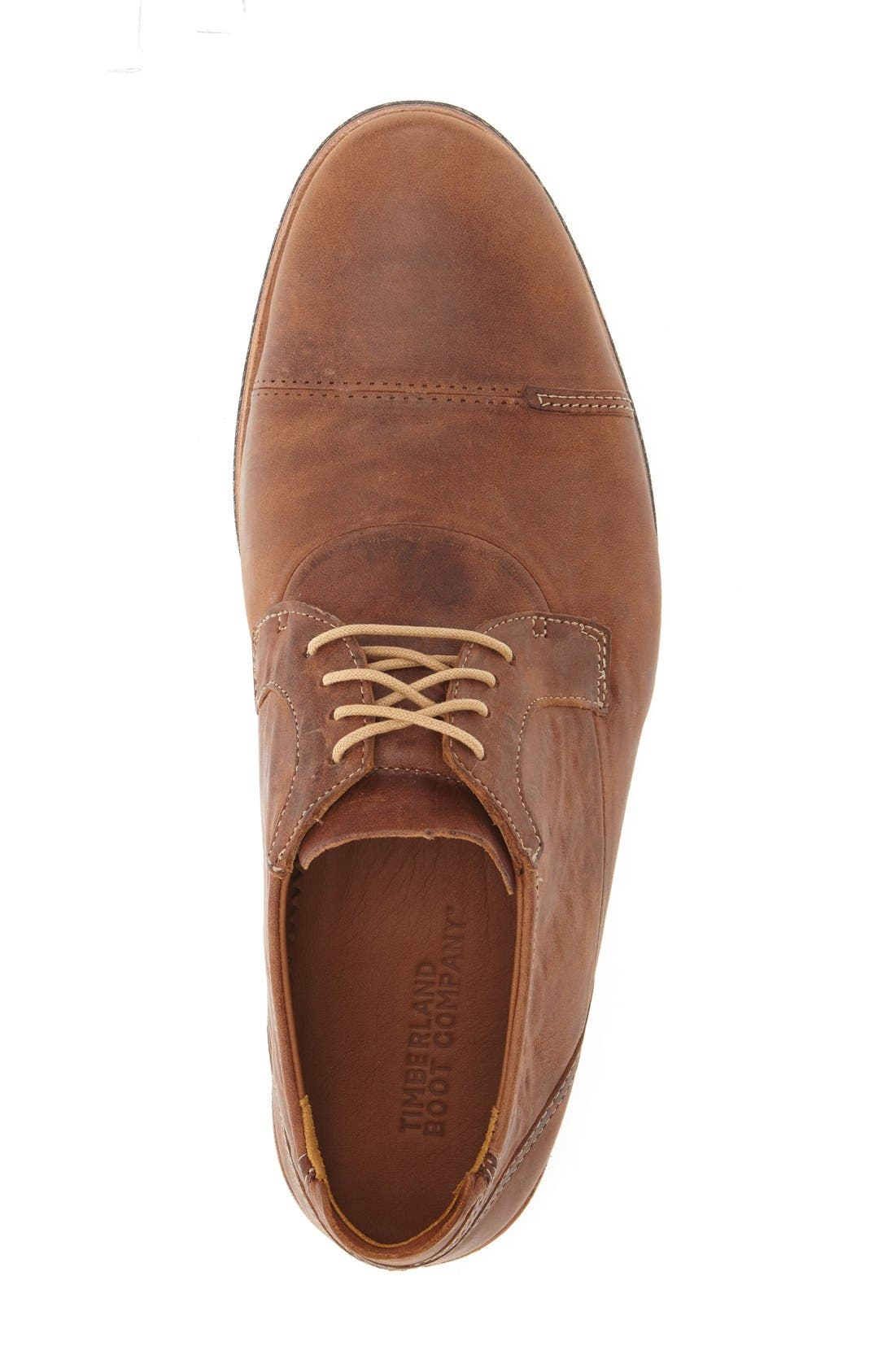 Alternate Image 3  - Timberland 'Wodehouse Lost History' Cap Toe Oxford (Men)