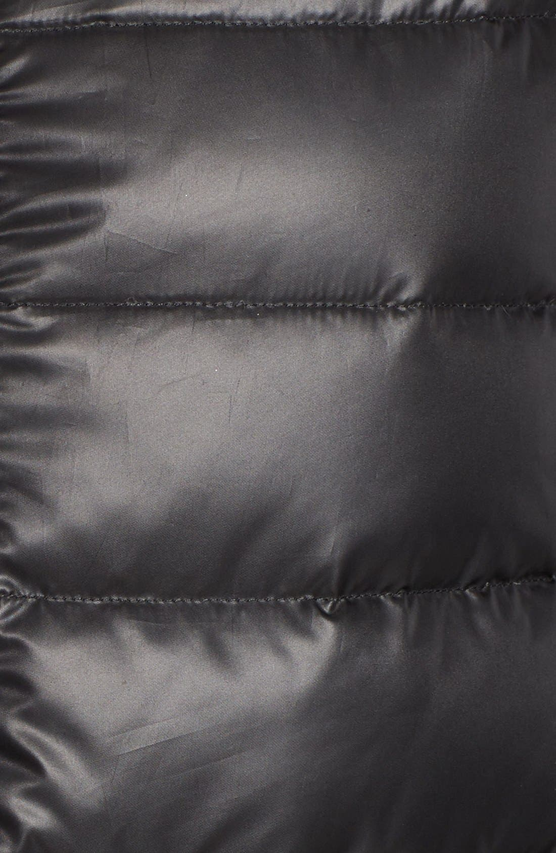 Alternate Image 5  - Rudsak Leather Trim Down Puffer Coat