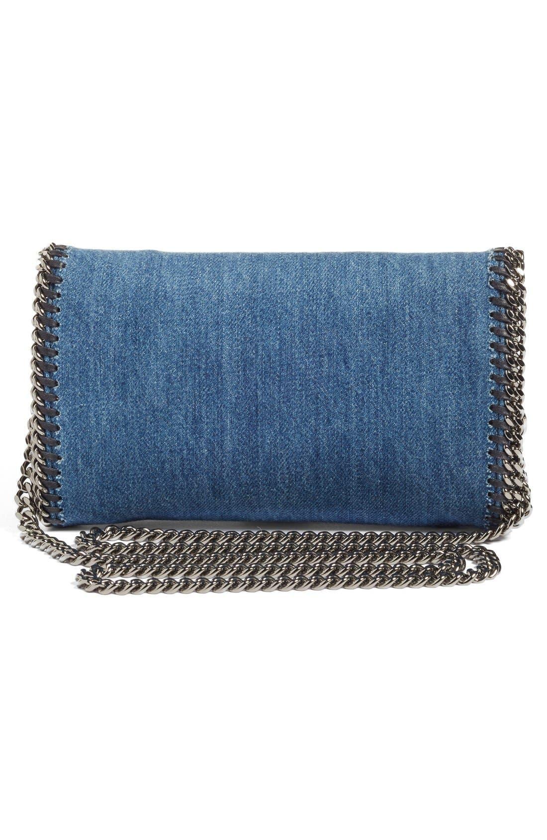 Alternate Image 2  - Stella McCartney Embroidered Denim Shoulder Bag