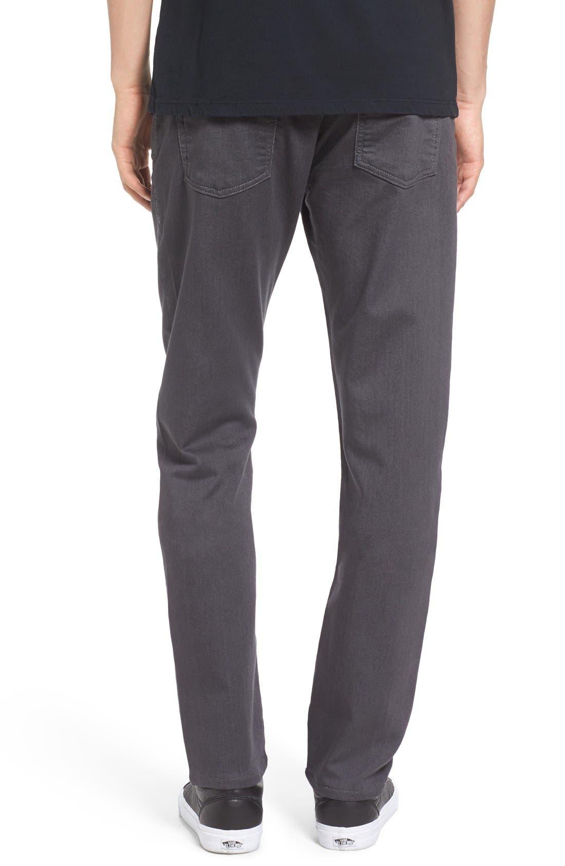 Torino Slim Fit Jeans,                             Alternate thumbnail 2, color,                             Fox Grey