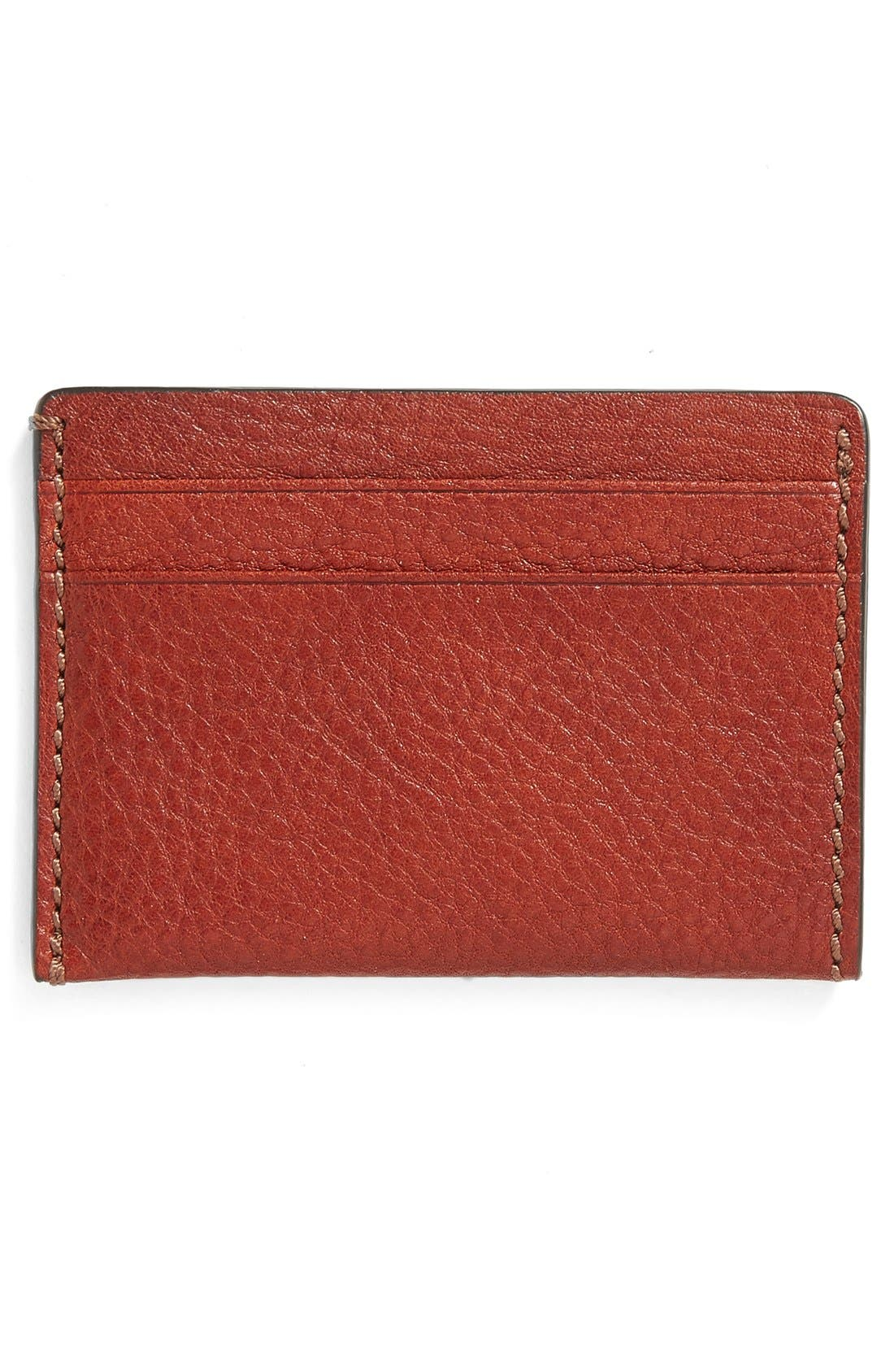 Alternate Image 2  - Bosca Leather Card Case