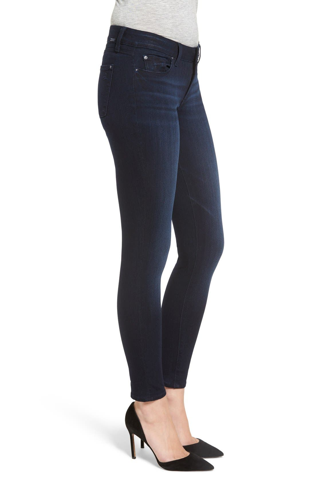 'Emma' Power Legging Jeans,                             Alternate thumbnail 3, color,                             Token