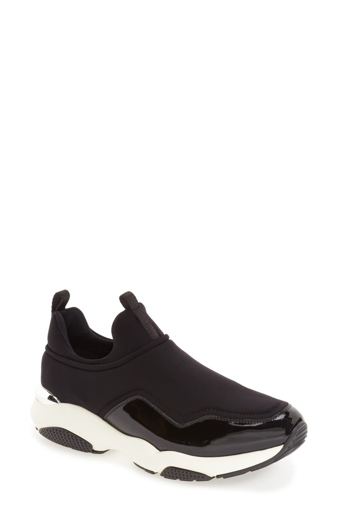 Alternate Image 1 Selected - Salvatore Ferragamo Skate Sneaker (Women)
