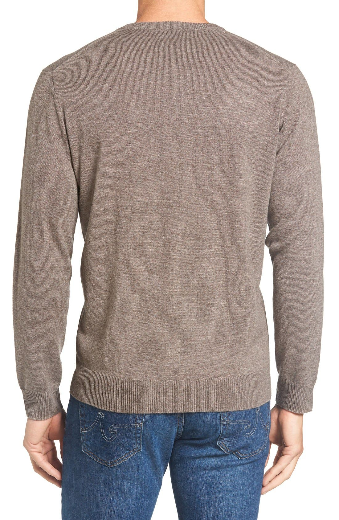 Alternate Image 2  - Rodd & Gunn 'Inchbonnie' Wool & Cashmere V-Neck Sweater