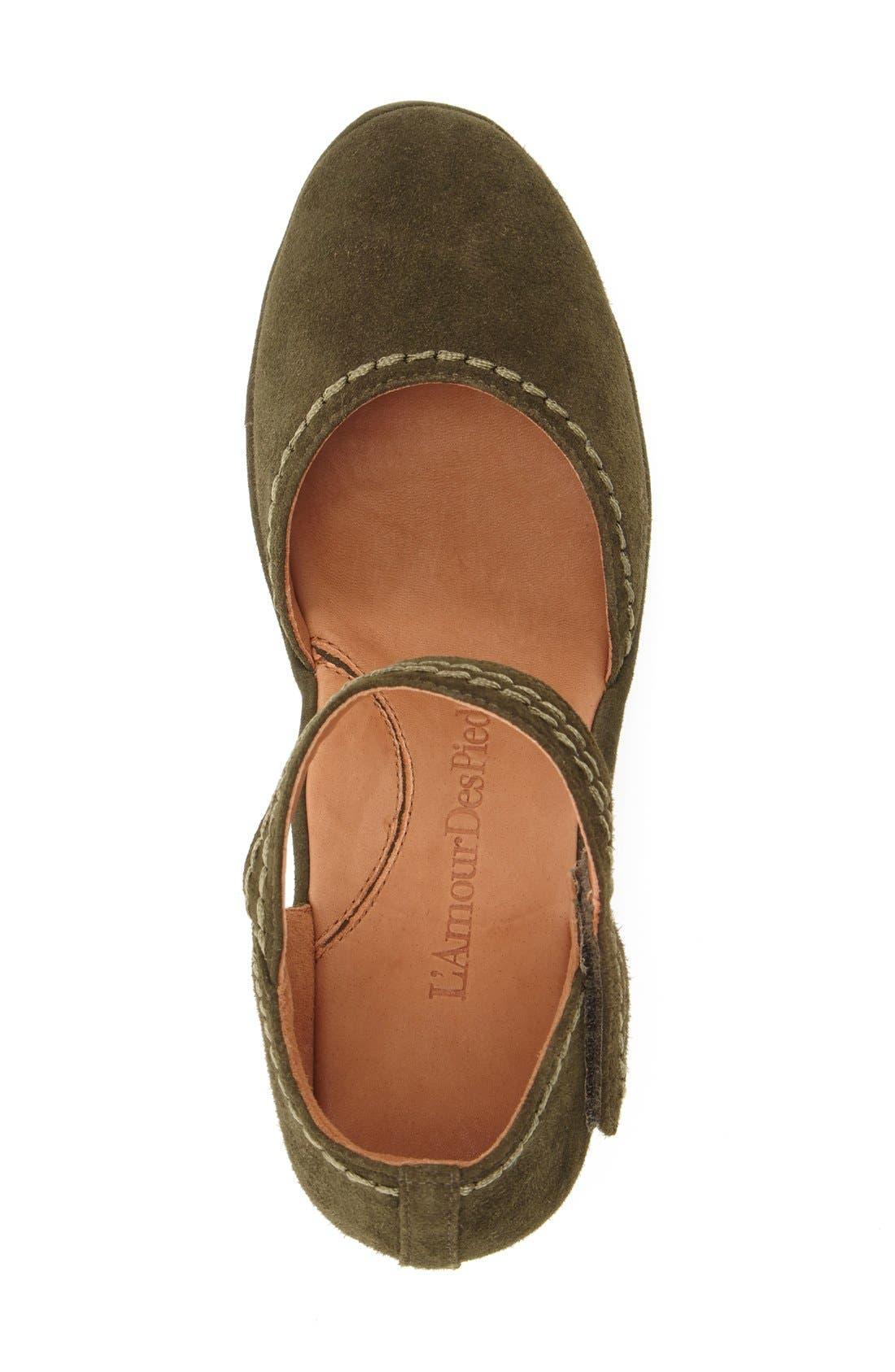 Alternate Image 3  - L'Amourdes Pieds'Orva' Wedge Sandal (Women)