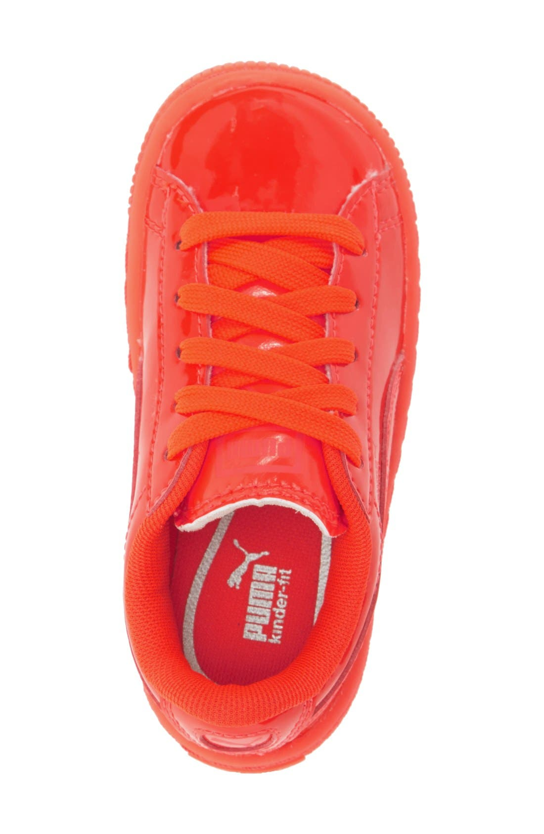 Alternate Image 3  - PUMA 'Basket Classic' Shoe (Baby, Walker & Toddler)