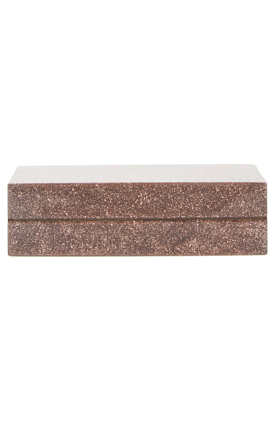 Alternate Image 6  - Stella McCartney 'Mix Glitter' Box Minaudière
