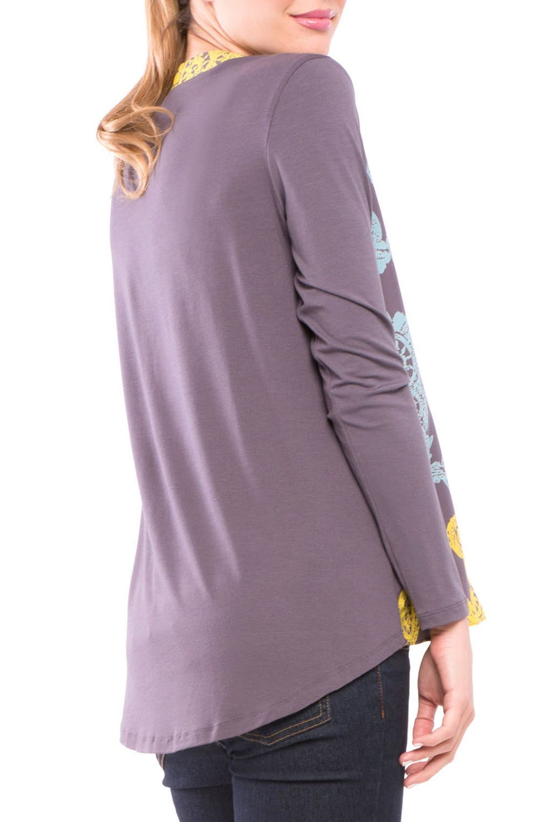 Alternate Image 2  - Olian Juliet Maternity Top