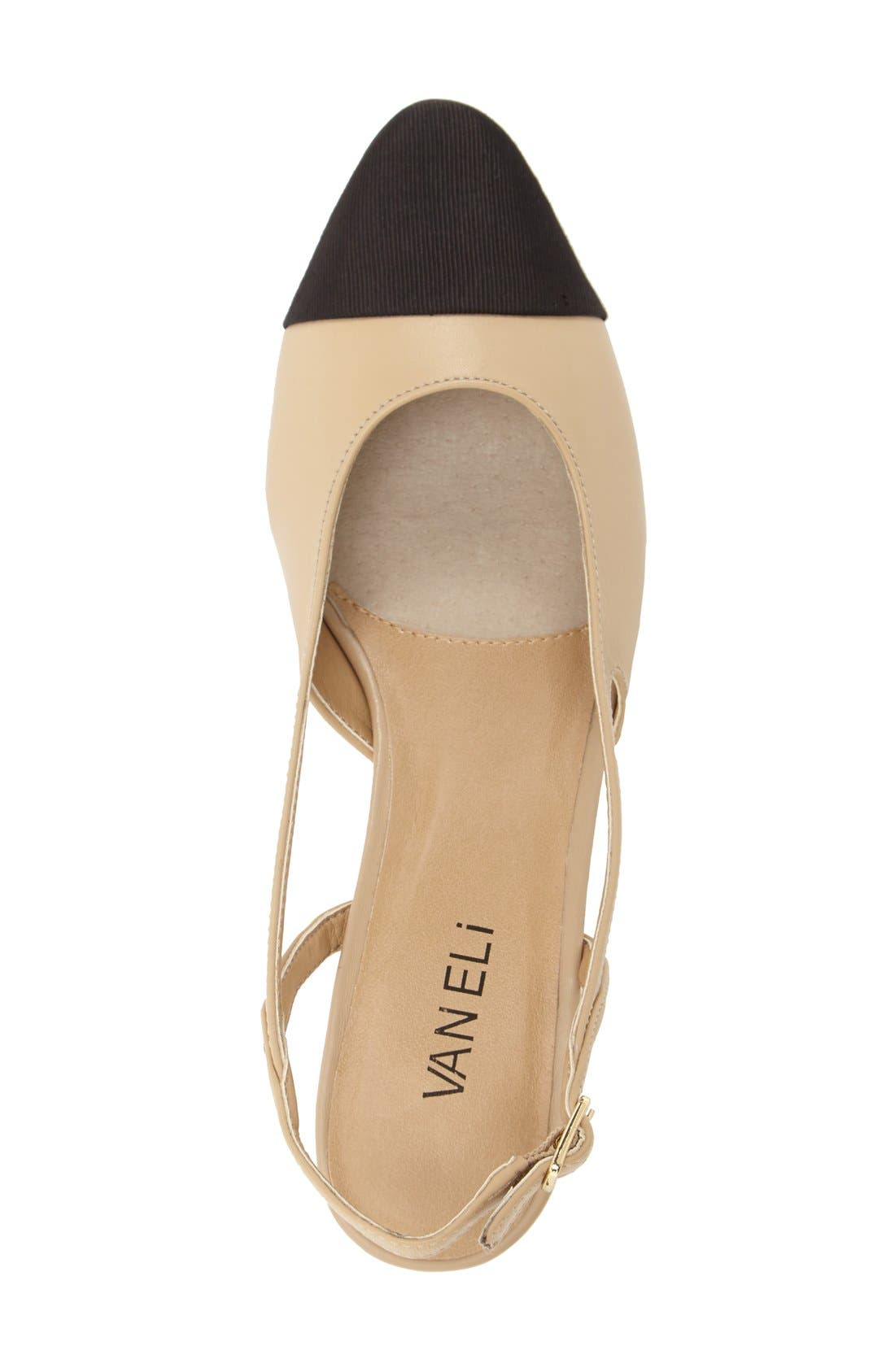 Alternate Image 3  - VANELi 'Aliz' Slingback Pump (Women)