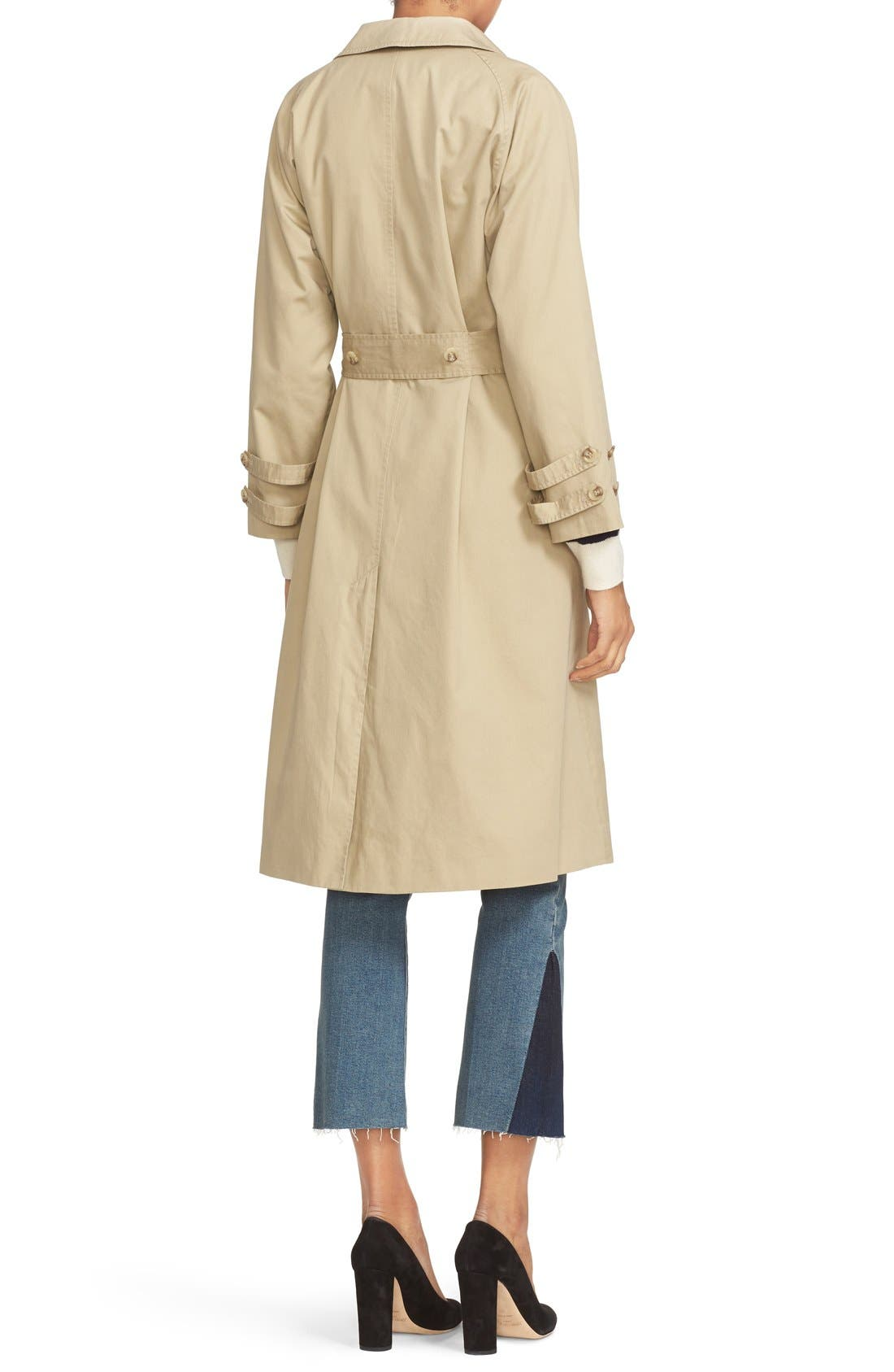 Alternate Image 3  - FRAME Cotton Trench Coat