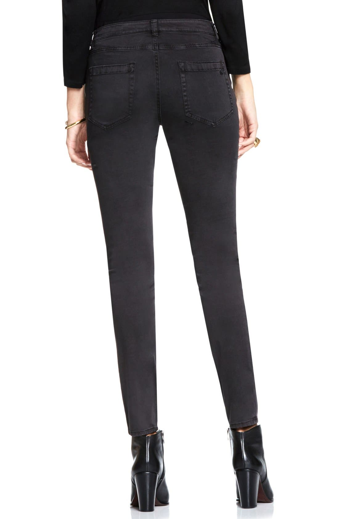 Alternate Image 3  - Two by Vince Camuto Colored Five Pocket Skinny Jeans