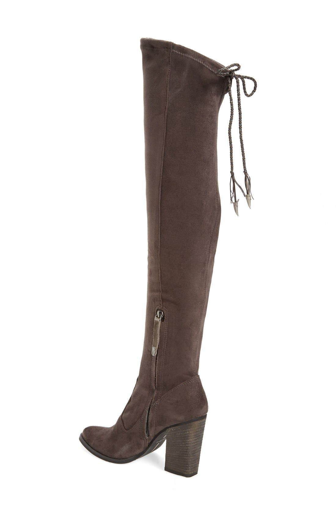 Alternate Image 2  - Dolce Vita 'Chance' Over the Knee Stretch Boot (Women) (Narrow Calf)