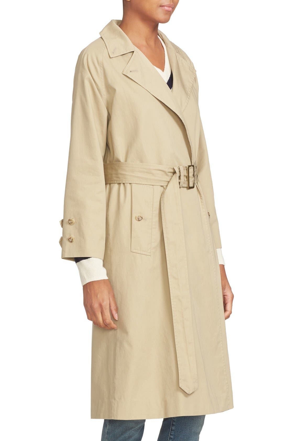 Alternate Image 5  - FRAME Cotton Trench Coat
