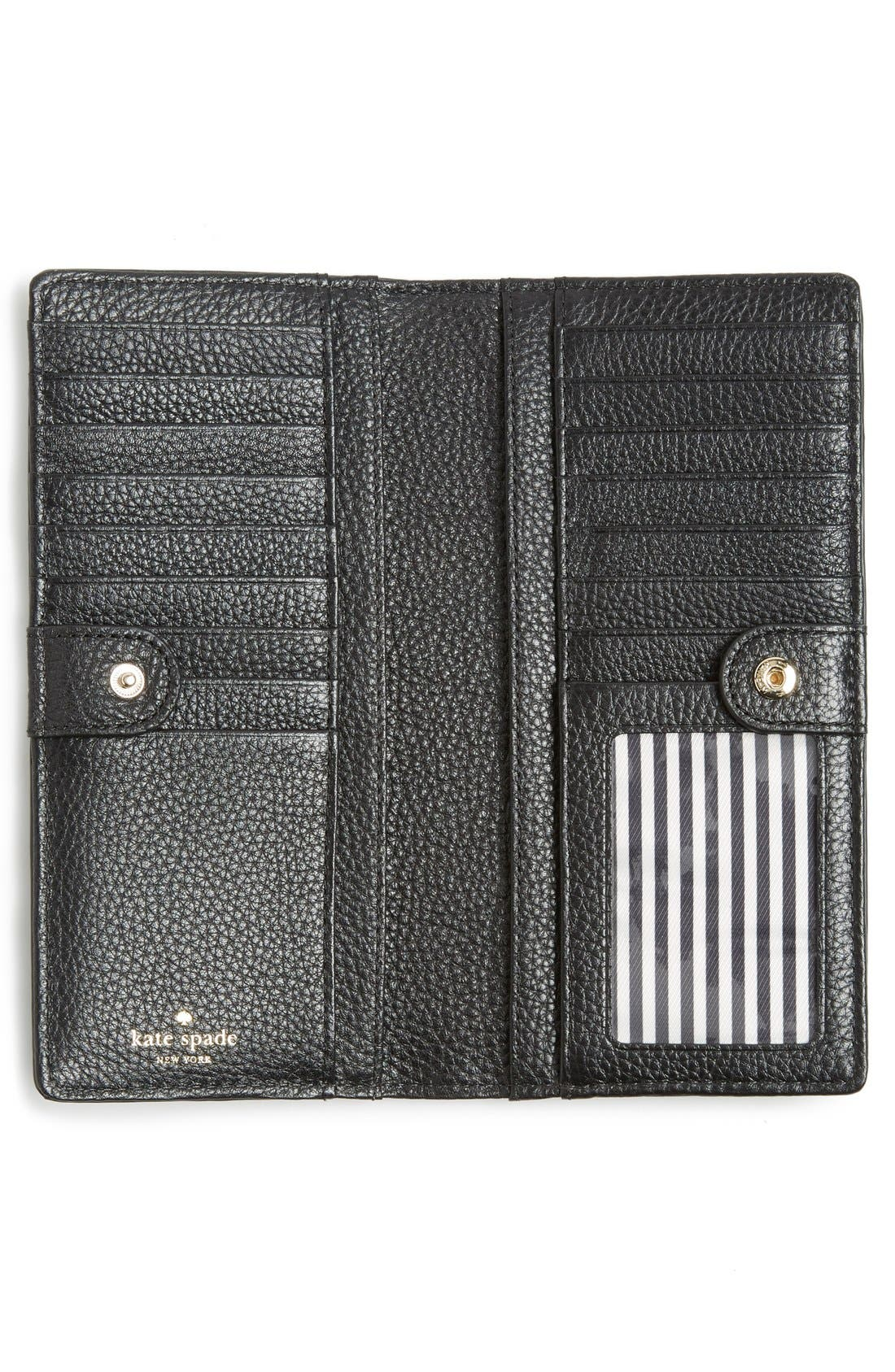 Alternate Image 4  - kate spade new york 'cobble hill - large stacy' leather wallet