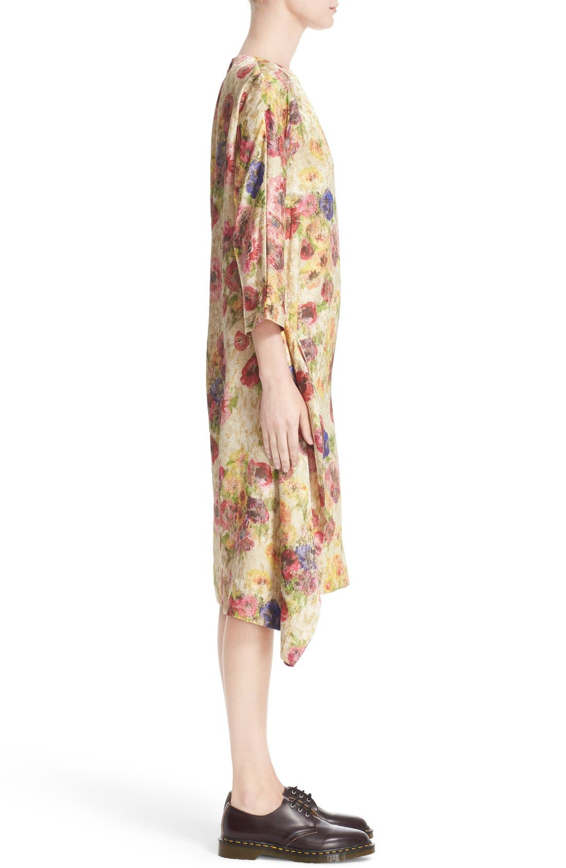 Alternate Image 5  - Comme des Garçons Floral Jacquard Shift Dress