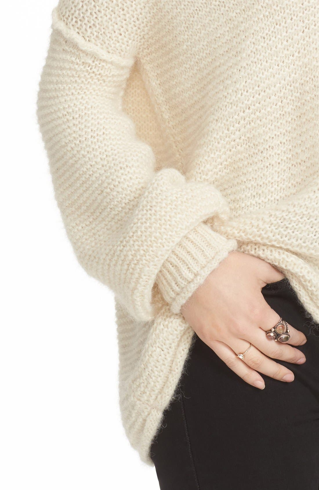 All Mine Sweater,                             Alternate thumbnail 4, color,                             Ivory
