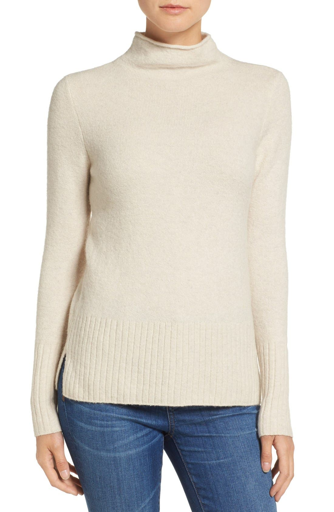 Madewell Inland Rolled Turtleneck Sweater