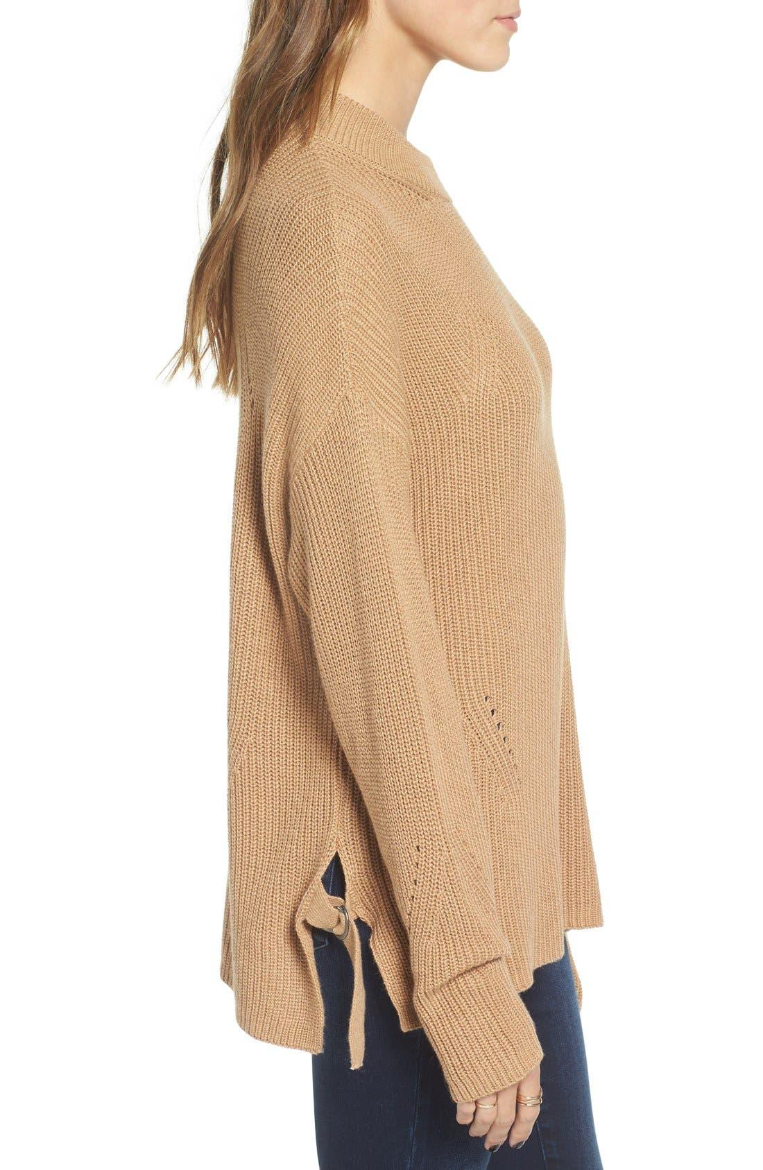 Alternate Image 3  - BP. Side Buckle Knit Pullover