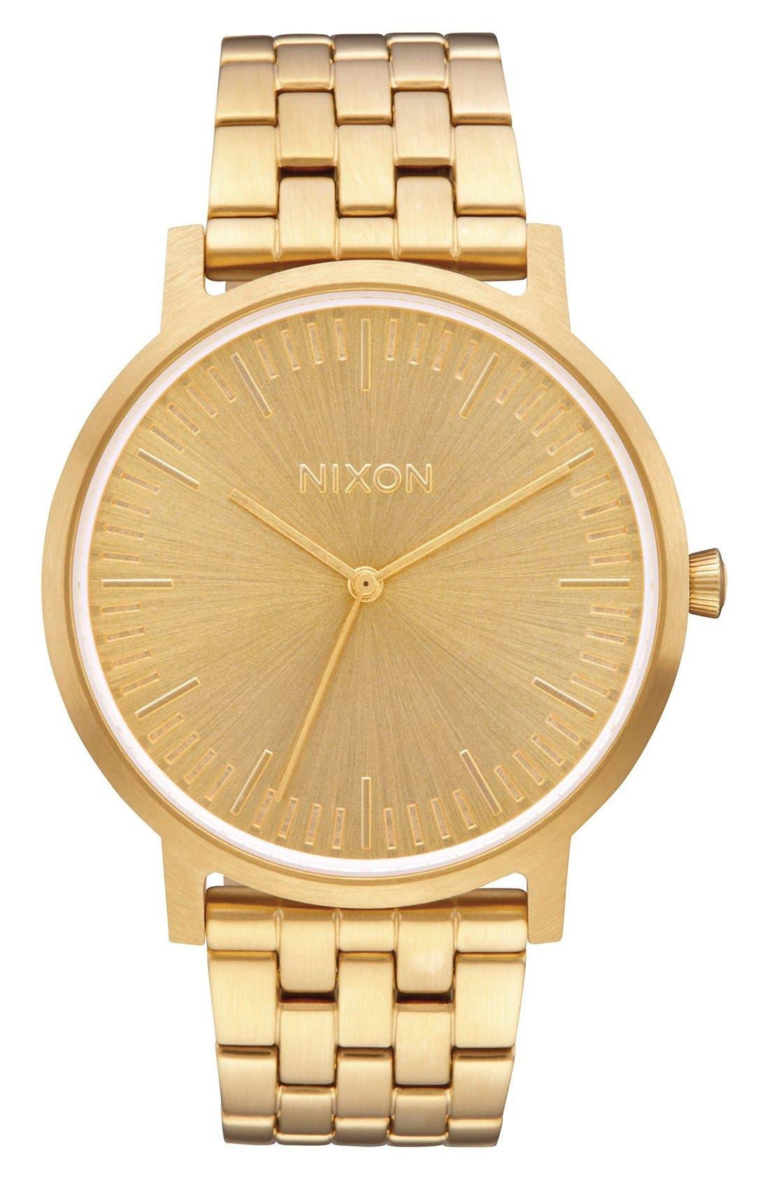 Main Image - Nixon The Porter Bracelet Watch, 40mm