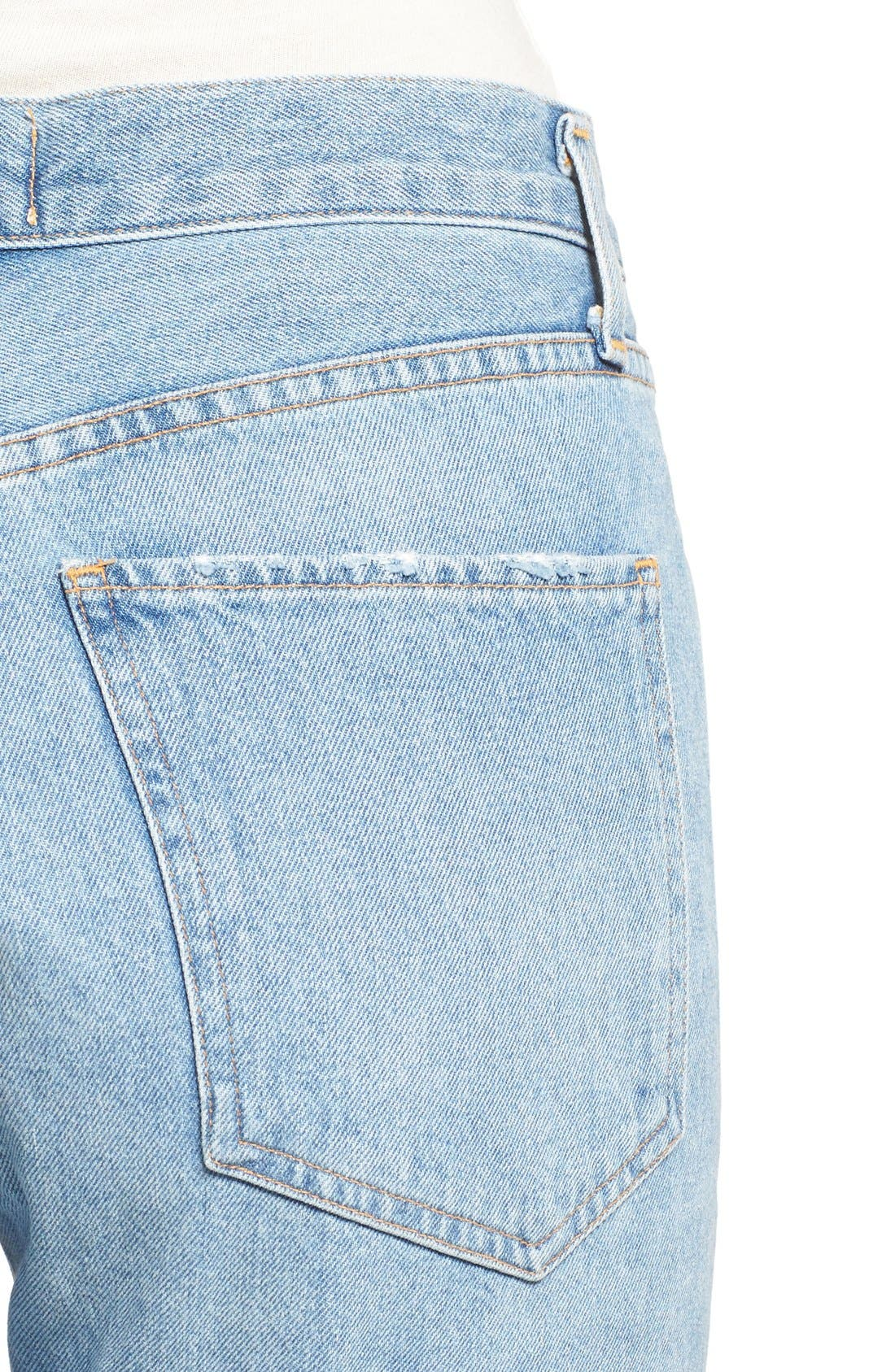 Alternate Image 4  - AGOLDE Jamie High Rise Classic Jeans (Women)