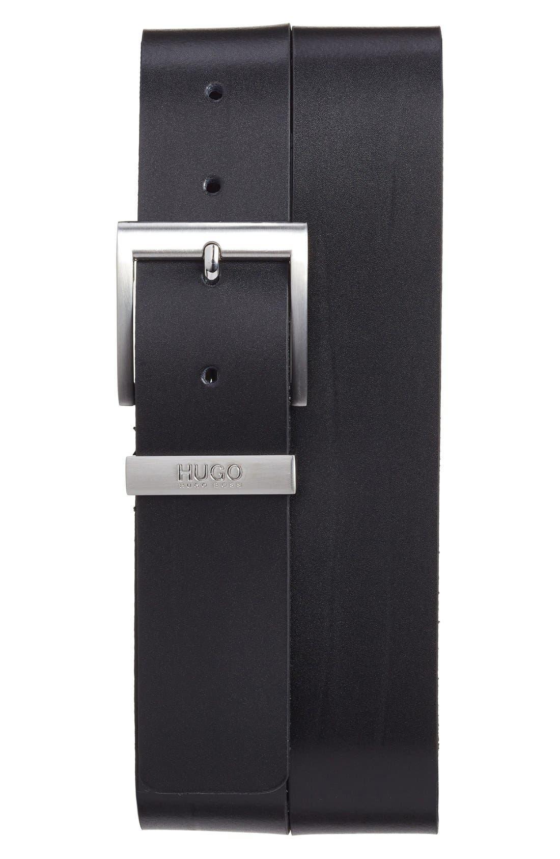 Main Image - BOSS Leather Belt