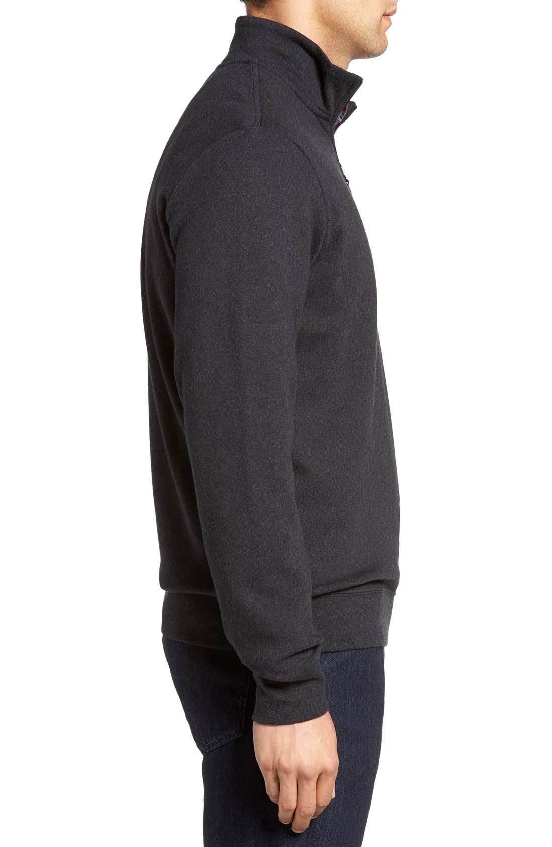 Alternate Image 3  - Vineyard Vines Quarter Zip Sweater